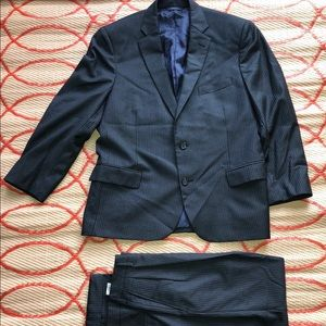 BROOKS BROTHERS men's suit 1818 Madison Gray blue